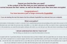 Вирус-шифровальщик CryptoWall 4.0: как расшифровать данные