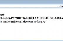 Выпущен мастер-ключ для расшифровки TeslaCrypt! Проект закрыт создателями.